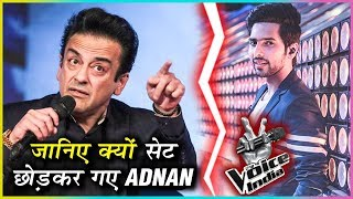 Adnan Sami Walks Out Of THE VOICE INDIA Show Because of Armaan Malik