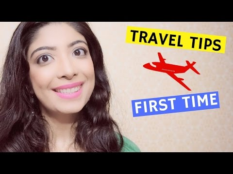 First Time Domestic Flight Journey   Travel Tips in Hindi    Bhawna Ahuja