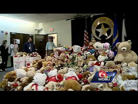 Here's how the Teddy Bear Program helps traumatized children in New Orleans