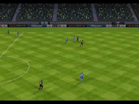 FIFA 14 ANDROID! rabona GOAL!