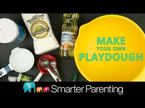 DIY Homemade Playdough Activity - Teach Your Kid To Follow Instructions