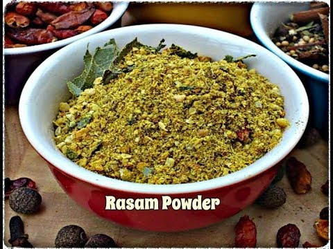 How to Make Rasam Powder - A Tasty Mix of Toasted Black Gram and Spices | Episode 106