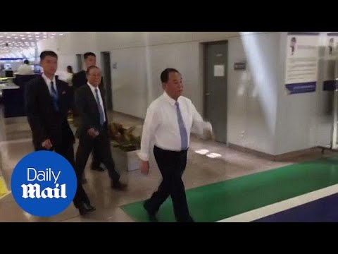 Senior North Korean official Kim Yong Chol arrives in Beijing - Daily Mail