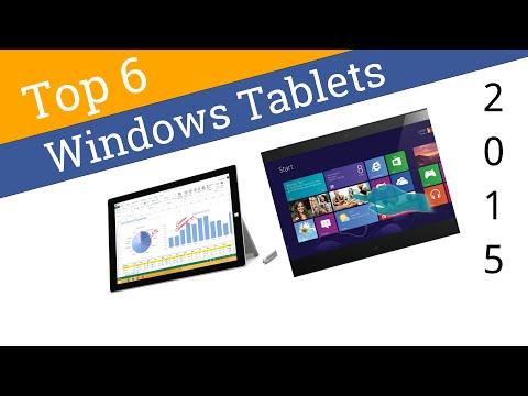 6 Best Windows Tablets 2015