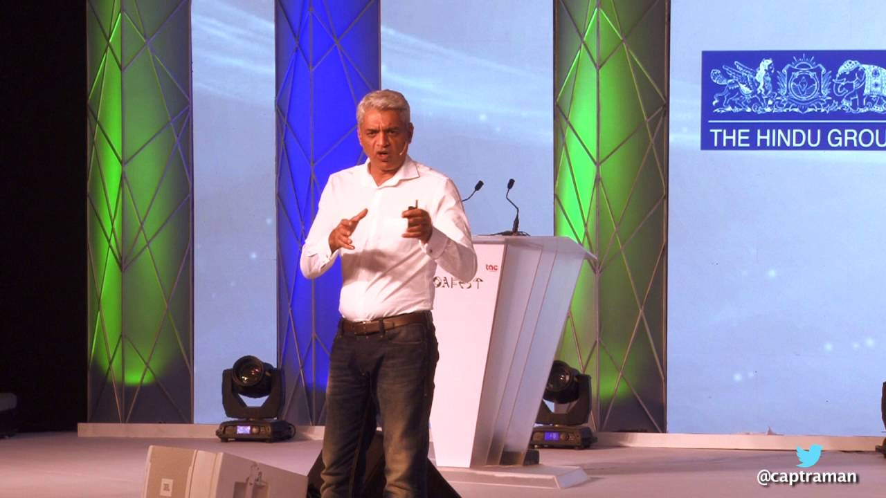 """""""Story telling - What the Ad world can learn from the Army"""" by Capt Raghu Raman @ Goafest 2016"""