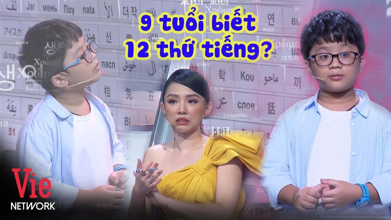 THẦN ĐỒNG NGÔN NGỮ 9 tuổi khiến ban giám khảo phải cúi đầu nể phục |SIÊU TRÍ TUỆ (The Brain Vietnam)