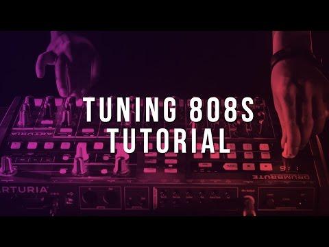 Tuning 808's (FL Studio Tutorial)