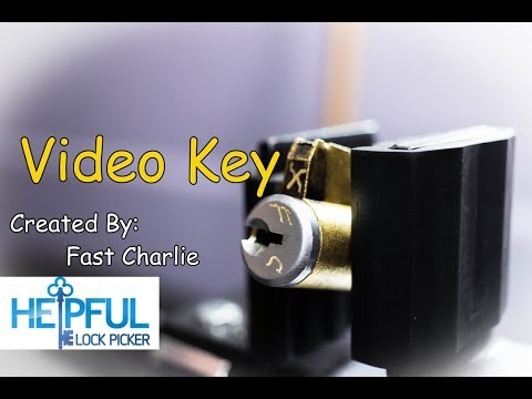 [159] Video Key Challenge Lock By Fast Charlie Picked and Gutted (Fantastic Example Of Poor Gutting)