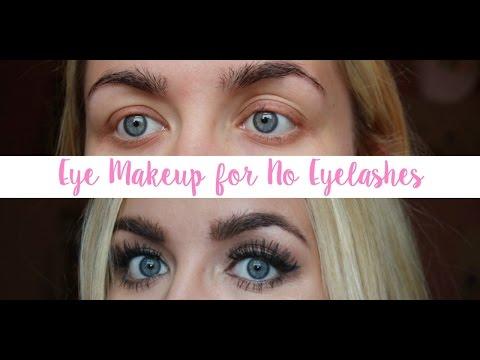 Eye Makeup for No Eyelashes (Trichotillomania) | G Beauty