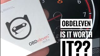 Unlock tons of features for your VW or Audi! OBDEleven Pro Review