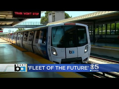 BART Offers Preview Of New Trains In Testing