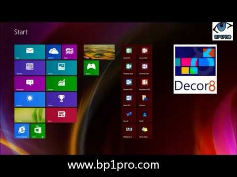Personalize the Windows 8 Start screen