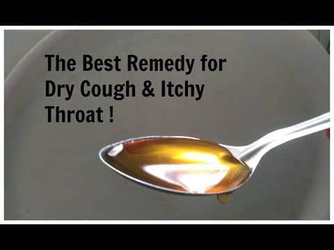 Best Home Remedy for Dry Cough and Itchy Throat / for Kids