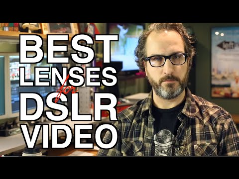BEST Lenses for DSLR Video!
