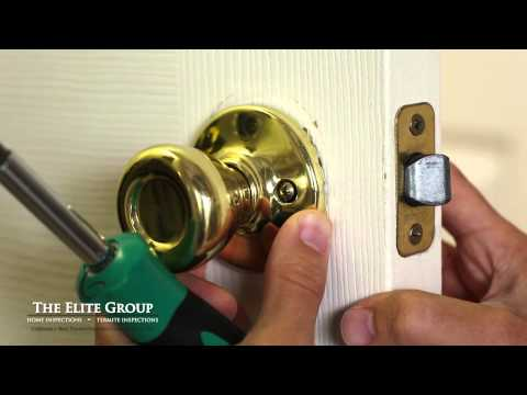 How to Fix a Stuck Door Latch | The Elite Group Property Inspections