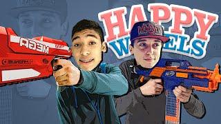 DESAFIO DA NERF !! - HAPPY WHEELS