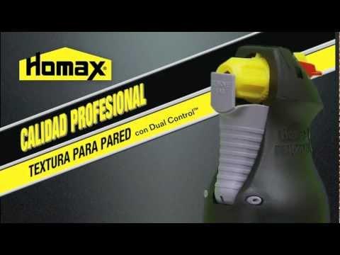 Homax® Pro Grade with Dual Control - Spanish Version