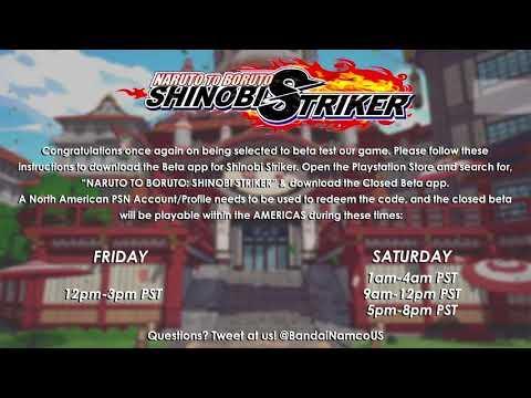 Naruto To Boruto Shinobi Striker BETA Code GIVEAWAY