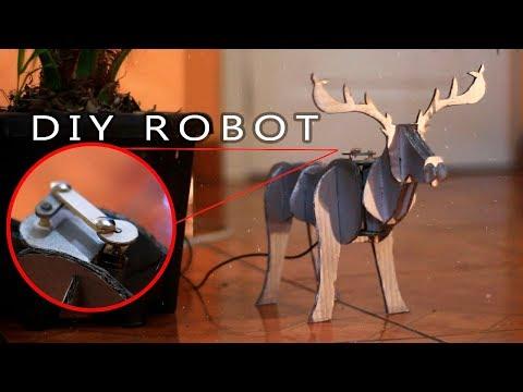 DIY Robotic Reindeer - Christmas decor!!
