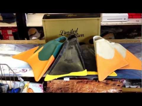 The Pit Surf Shop Product Review- Limited Edition Swim Fin