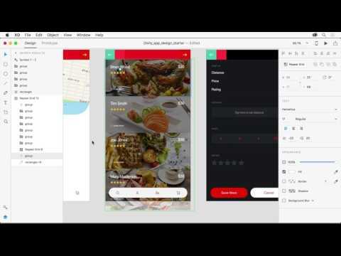 Adobe XD Repeat Grid