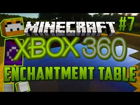 Minecraft Xbox 360 Survival Series w/LittleLizardGaming Ep 7 - Enchantment Table