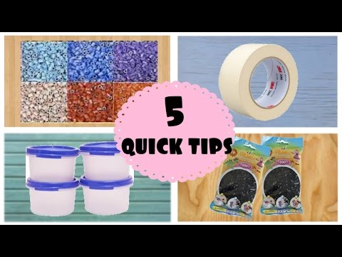 5 Quick tips for Perler Beads