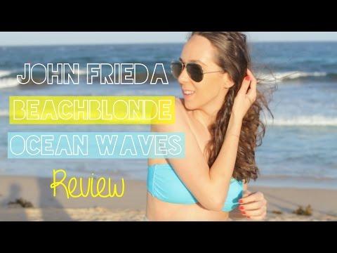 Its back! John Frieda Beach Blonde Ocean Waves Sea Salt Hair Spray | Review