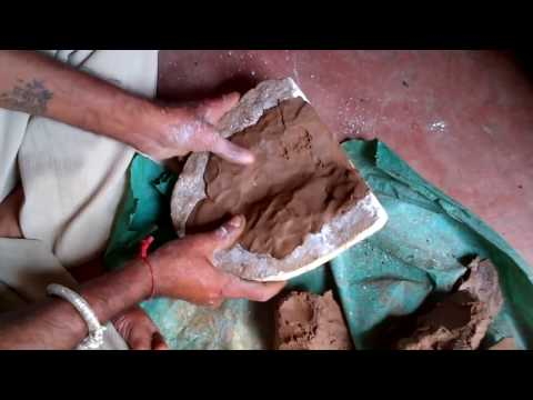 How to make Ganesha Idol with mud / clay - Eco-friendly, easiest, fastest & effective way