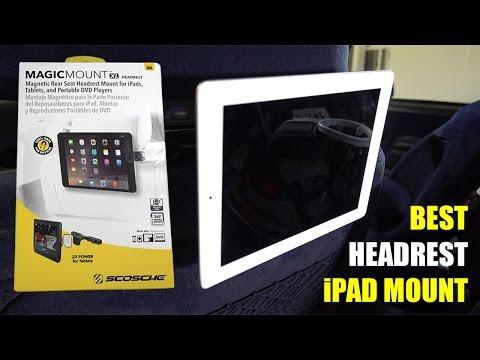 SCOSCHE MAGIC MOUNT XL [Headrest iPad Mount]