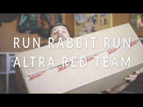 RUN RABBIT RUN 100 Signup & ALTRA RED TEAM Shoe Haul!