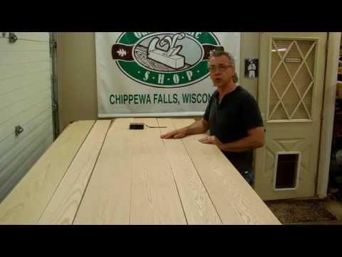 How To Make A Solid Oak Panel - The Oak Furniture Shop