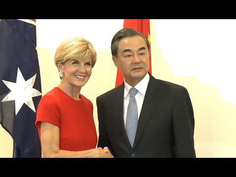 Chinese, Australian FMs Call for Strengthening of Bilateral Ties