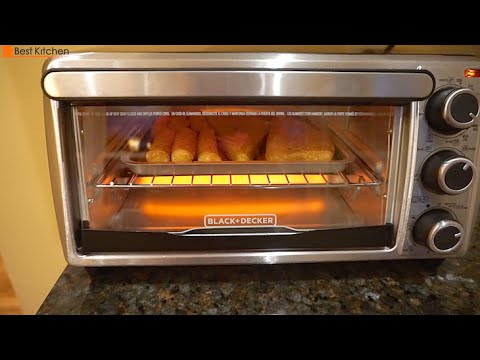 Black & Decker TO1303SB 4-Slice Toaster Oven Review