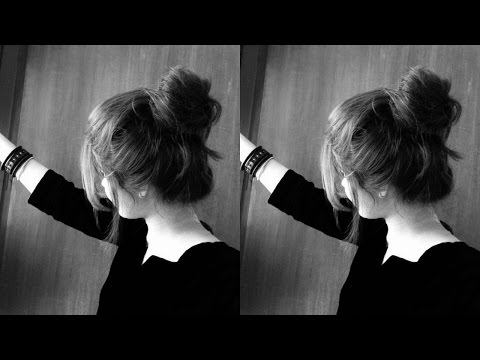 How to: 3 summer bun hairstyle's( No heat)