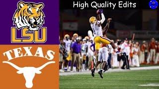 #6 LSU vs #9 Texas Highlights   NCAAF Week 2   College Football Highlights