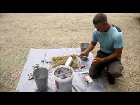 Making Lye Water (KOH) from Hardwood Ashes