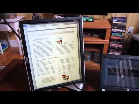 How To Configure Multiple Monitor in Portrait and Landscape mode for a Laptop
