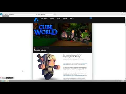 Cube World Demo Help