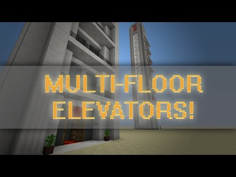Tiny Multi Floor Elevator Designs! 2x2 and 1x1! Up & Down Demonstration!