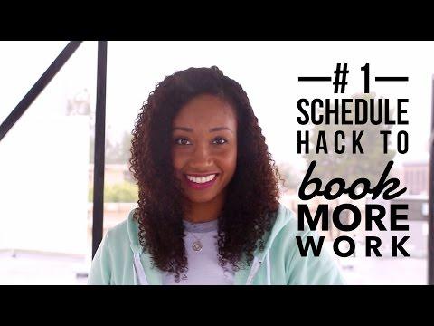 My #1 Schedule Hack To Book More Work! | Acting Resource Guru