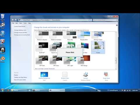 Installing Windows 7 Themes