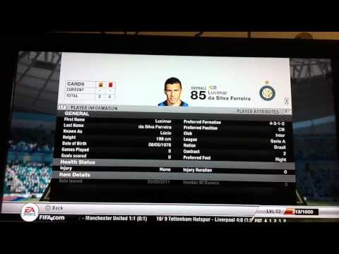 Fifa 12 Ultimate Team (PS3)