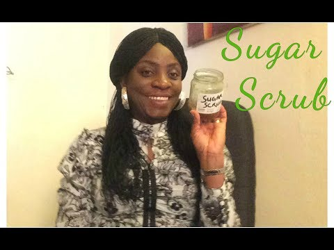 Sugar Scrub  For Youthful Looking Skin At  Home (DIY)