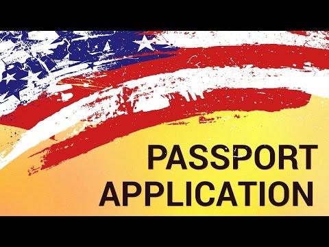United States Passport Application Form Online