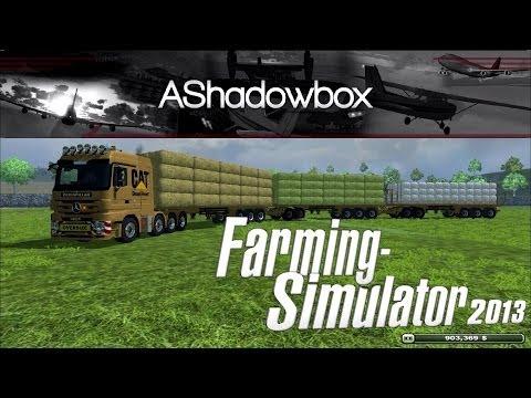 Farming Simulator 2013 | Singleplayer Let's Play | Episode 6 (Bale Harvest)