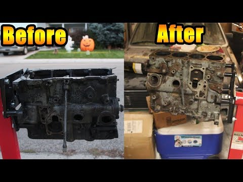 How To Super Clean Your Engine Block! #Project16