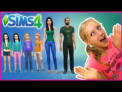 Switching Outfits in my Sims Family