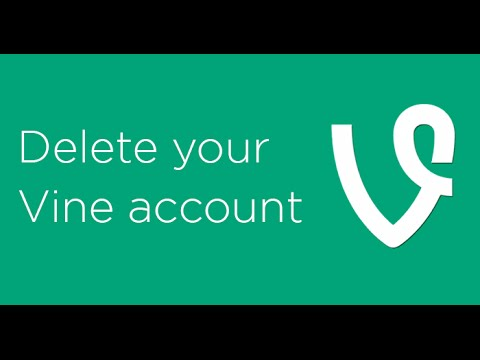 How to delete your Vine account