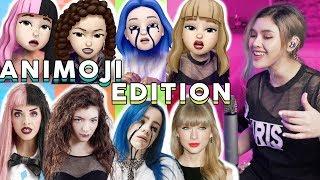 Singing Impressions Animoji Edition 2 (Lorde, Billie Eilish, Melanie Martinez, Taylor Swift)| Lesha